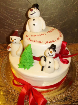 торт новый год (40)
