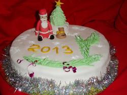 торт новый год (20)