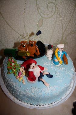 торт новый год (42)