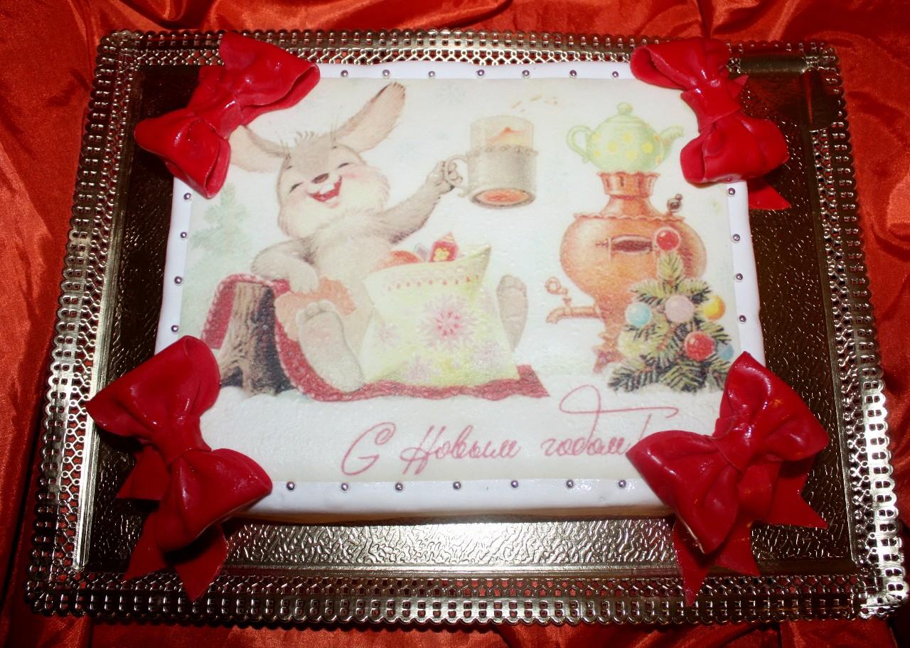 торт новый год (59)