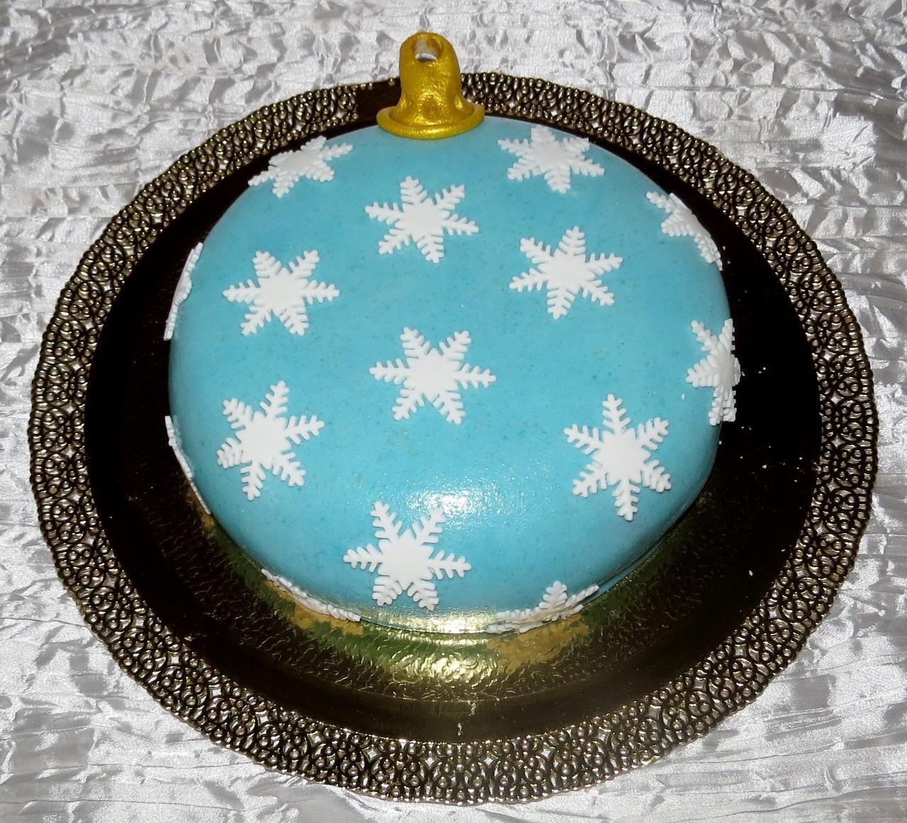 торт новый год (38)