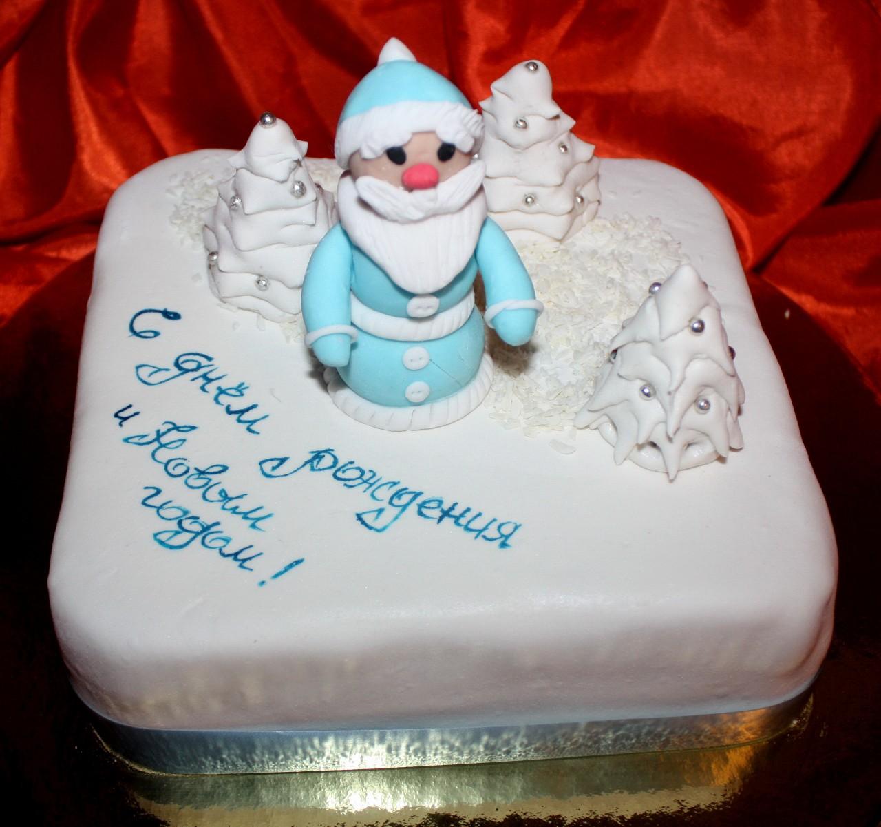 торт новый год (69)