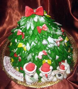 торт новый год (124)