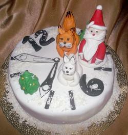 торт новый год (2)
