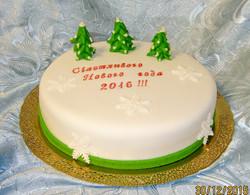 торт новый год (4)