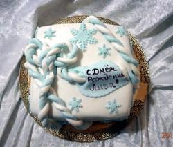 торт новый год (89)