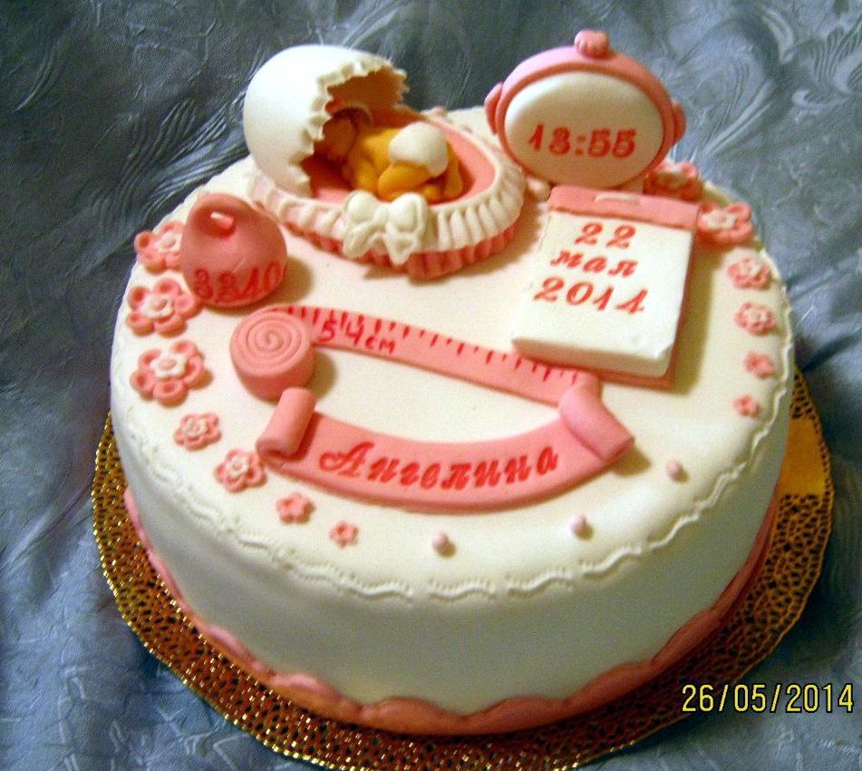Торт малышам, новорожденным