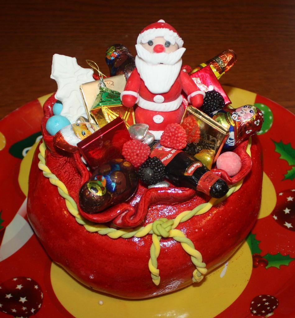 торт новый год (67)