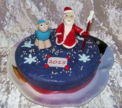 торт новый год (35)