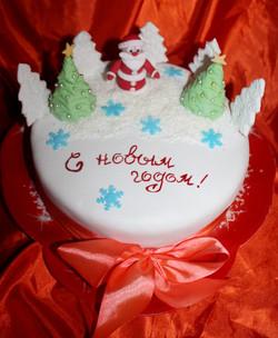 торт новый год (63)