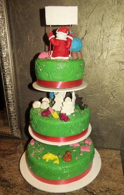 торт новый год (25)