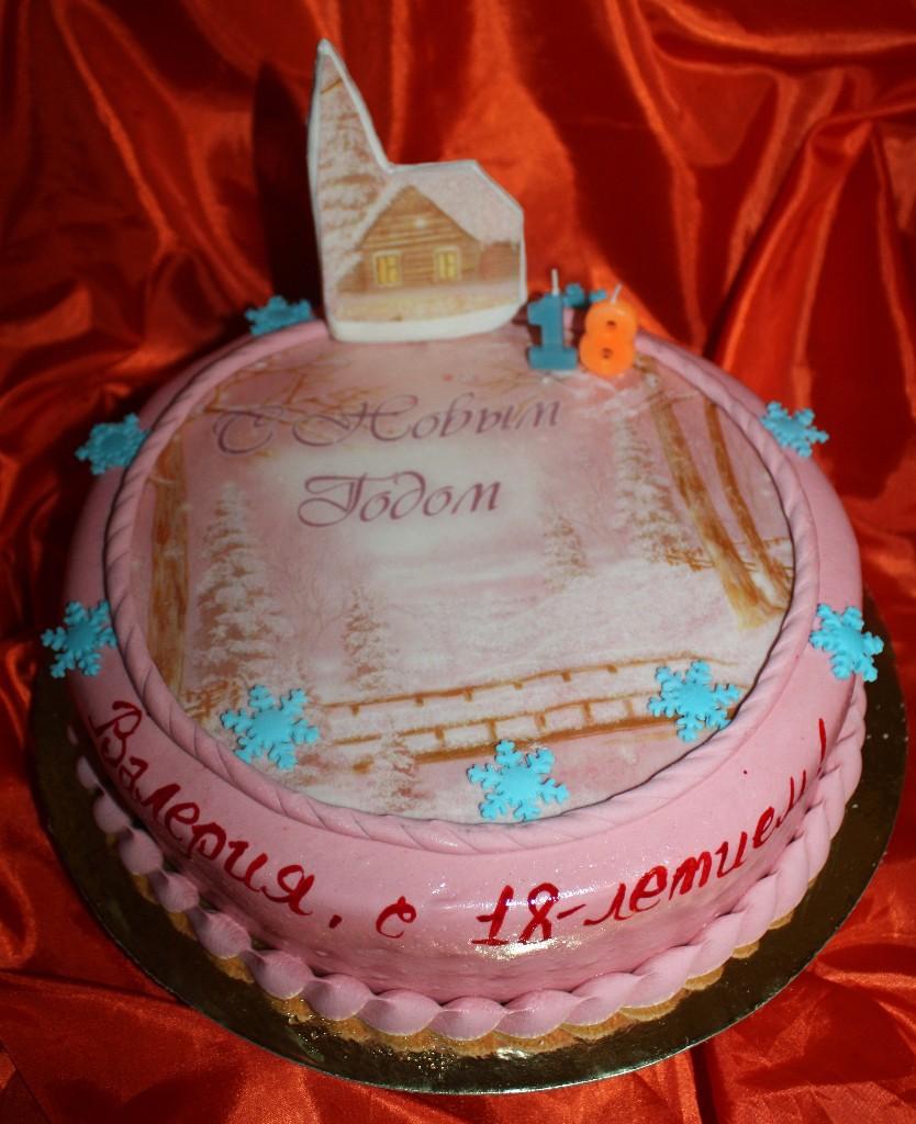 торт новый год (76)