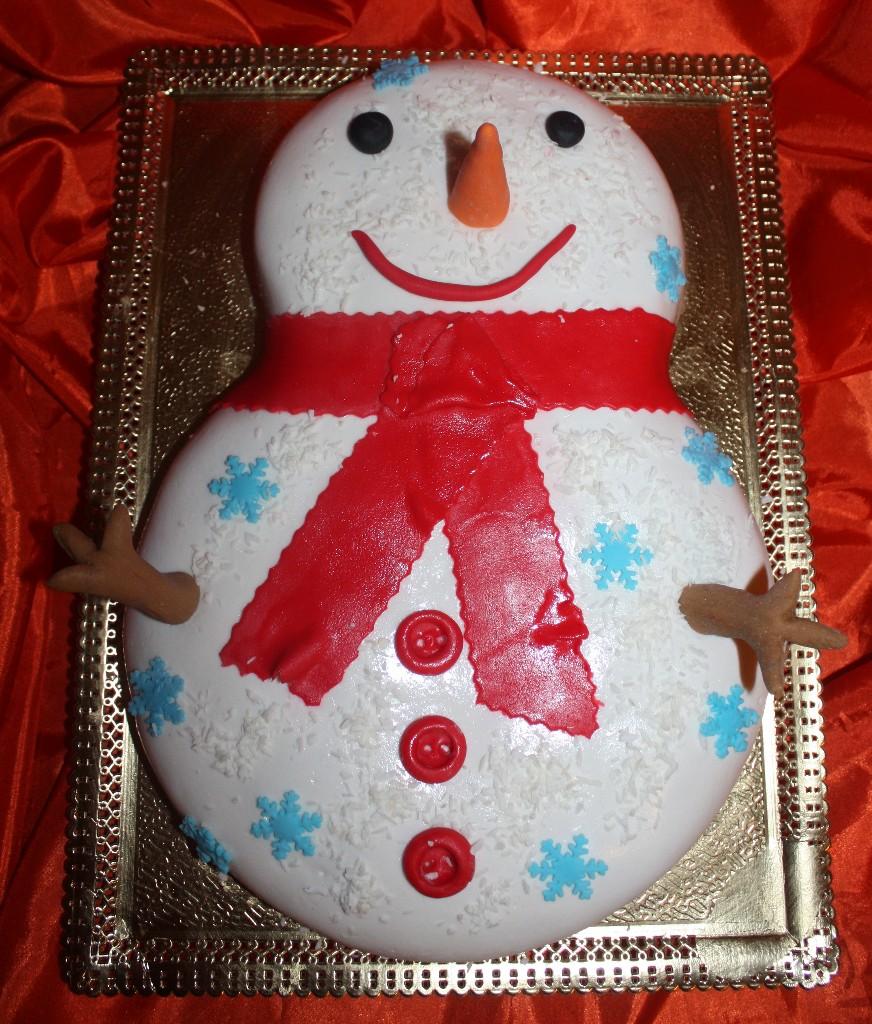 торт новый год (70)