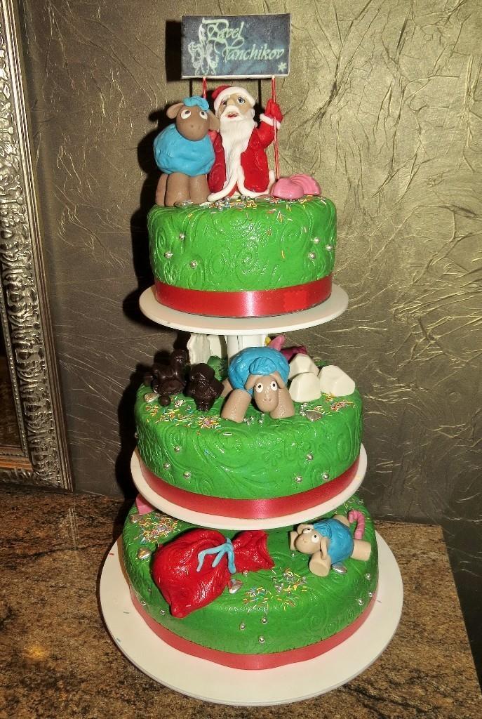 торт новый год (22)