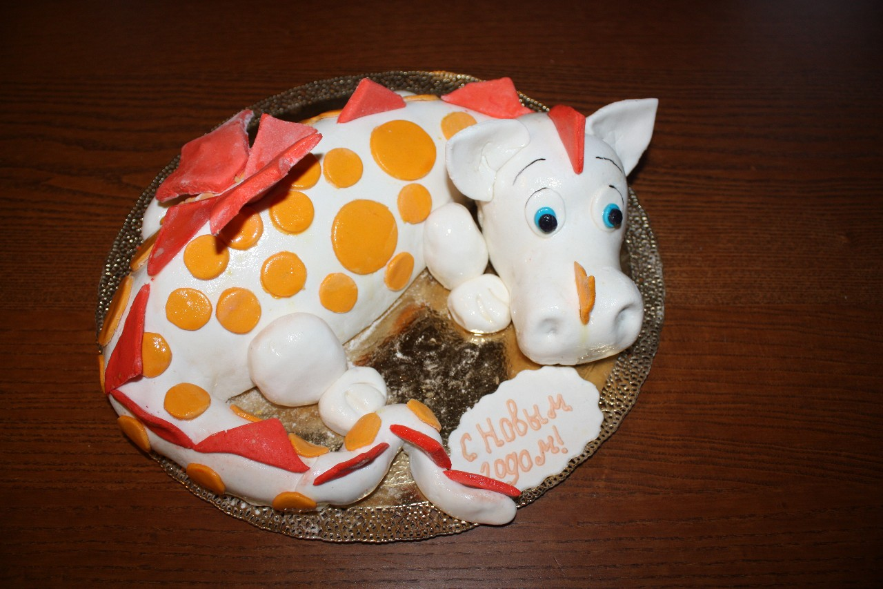 торт новый год (53)