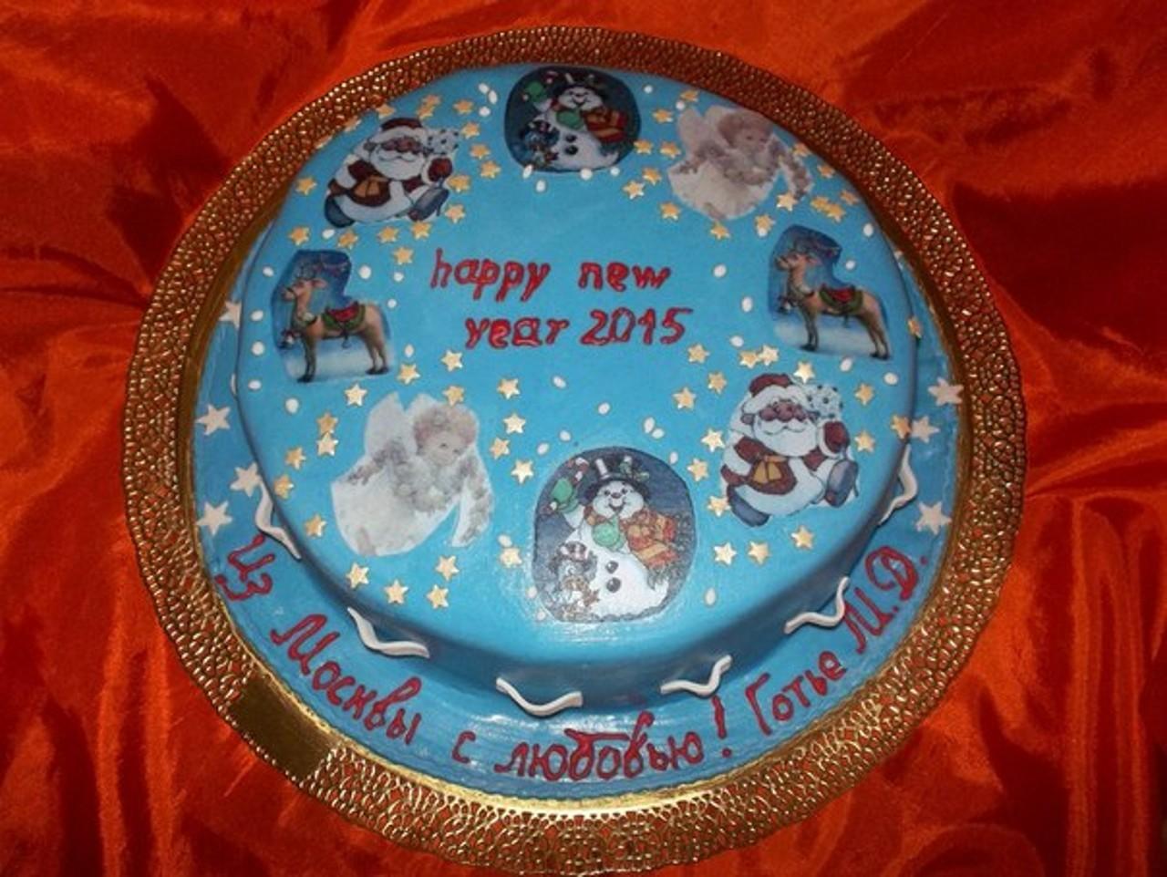 торт новый год (79)