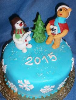 торт новый год (88)