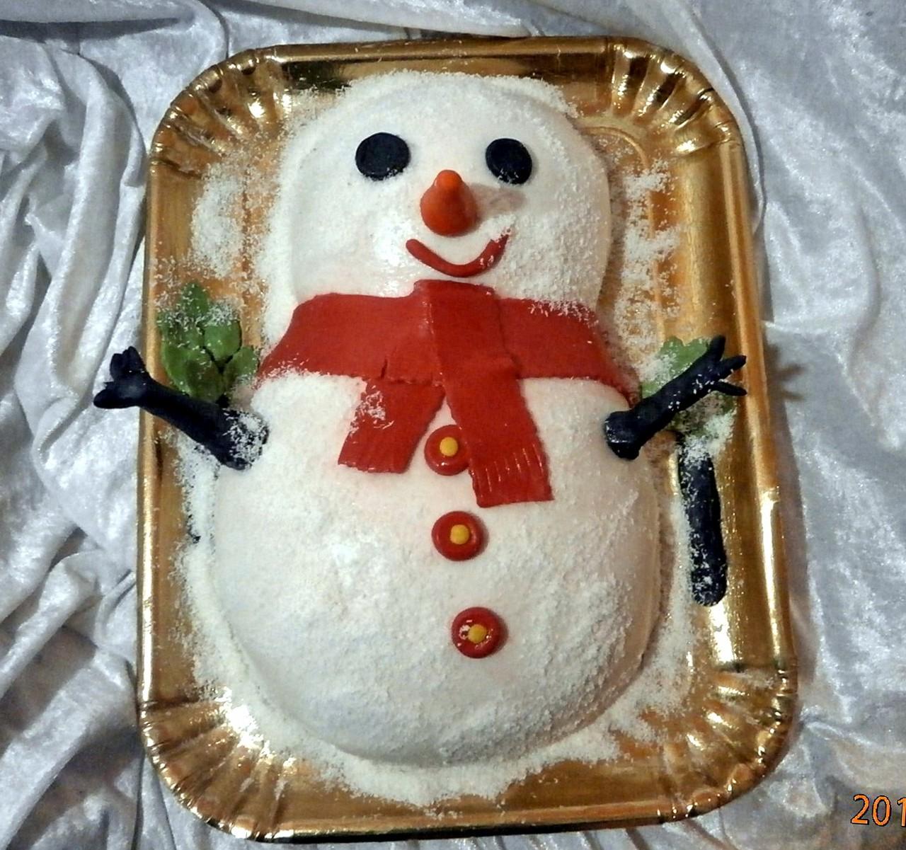 торт новый год (80)