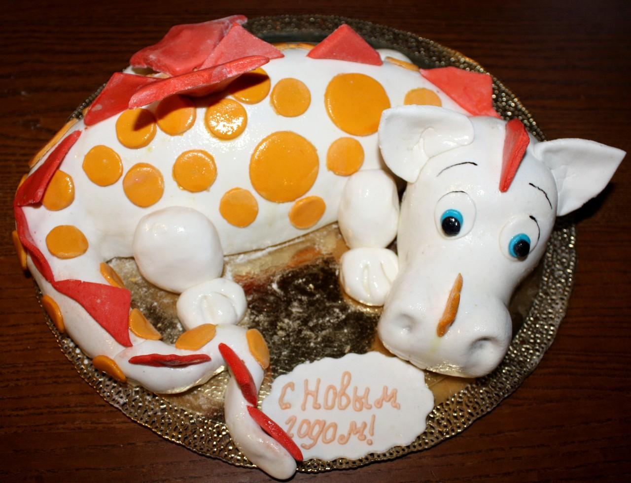 торт новый год (54)
