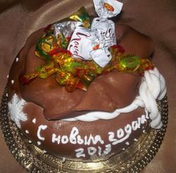 торт новый год (3)