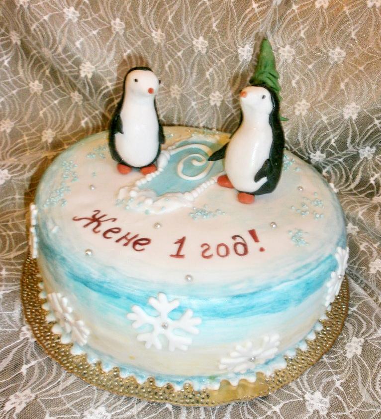 торт новый год (93)
