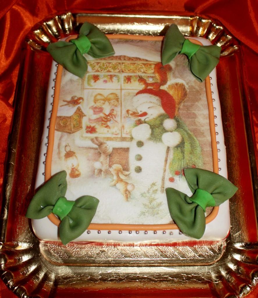 торт новый год (77)