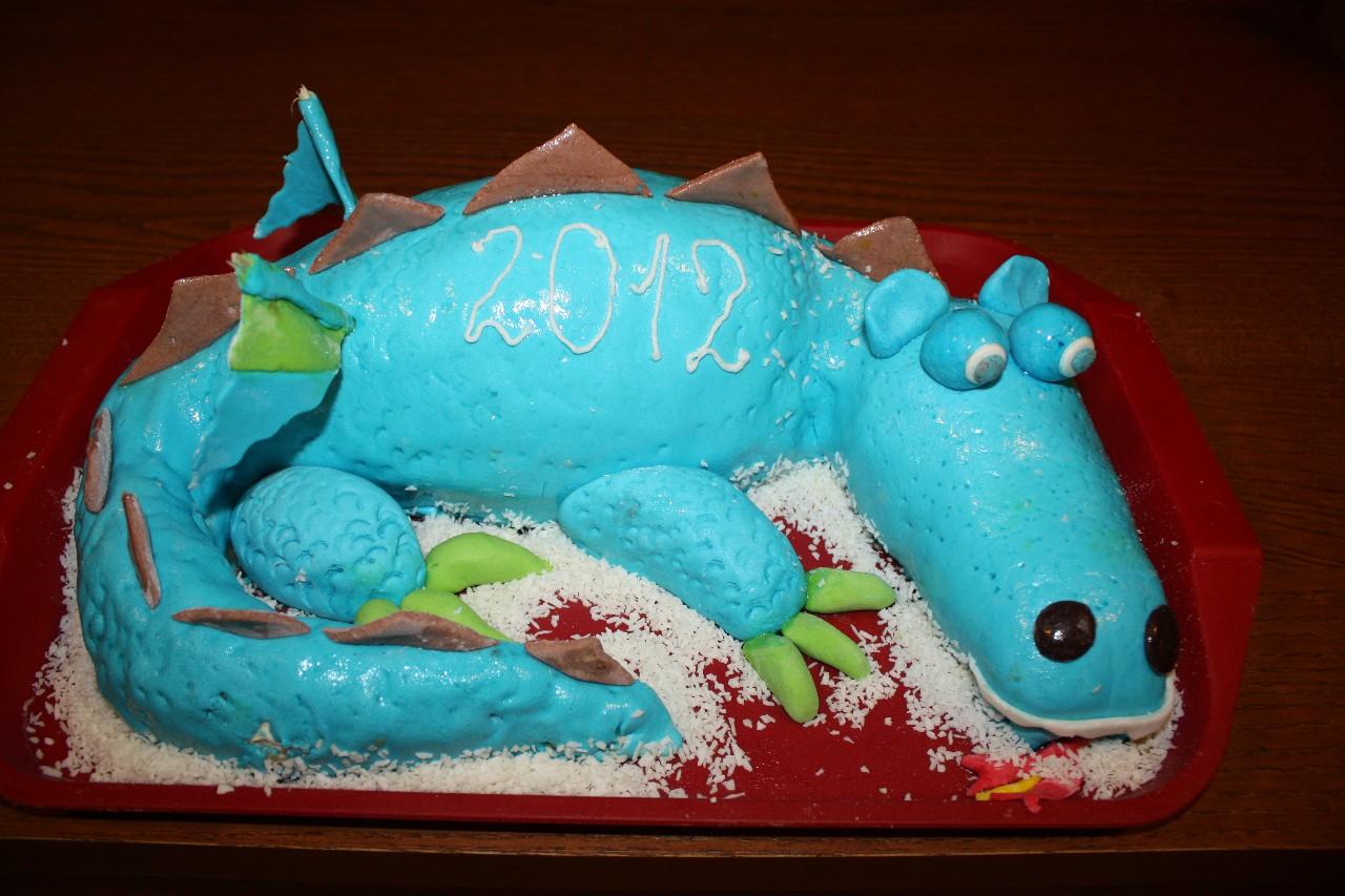 торт новый год (45)