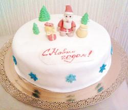 торт новый год (106)
