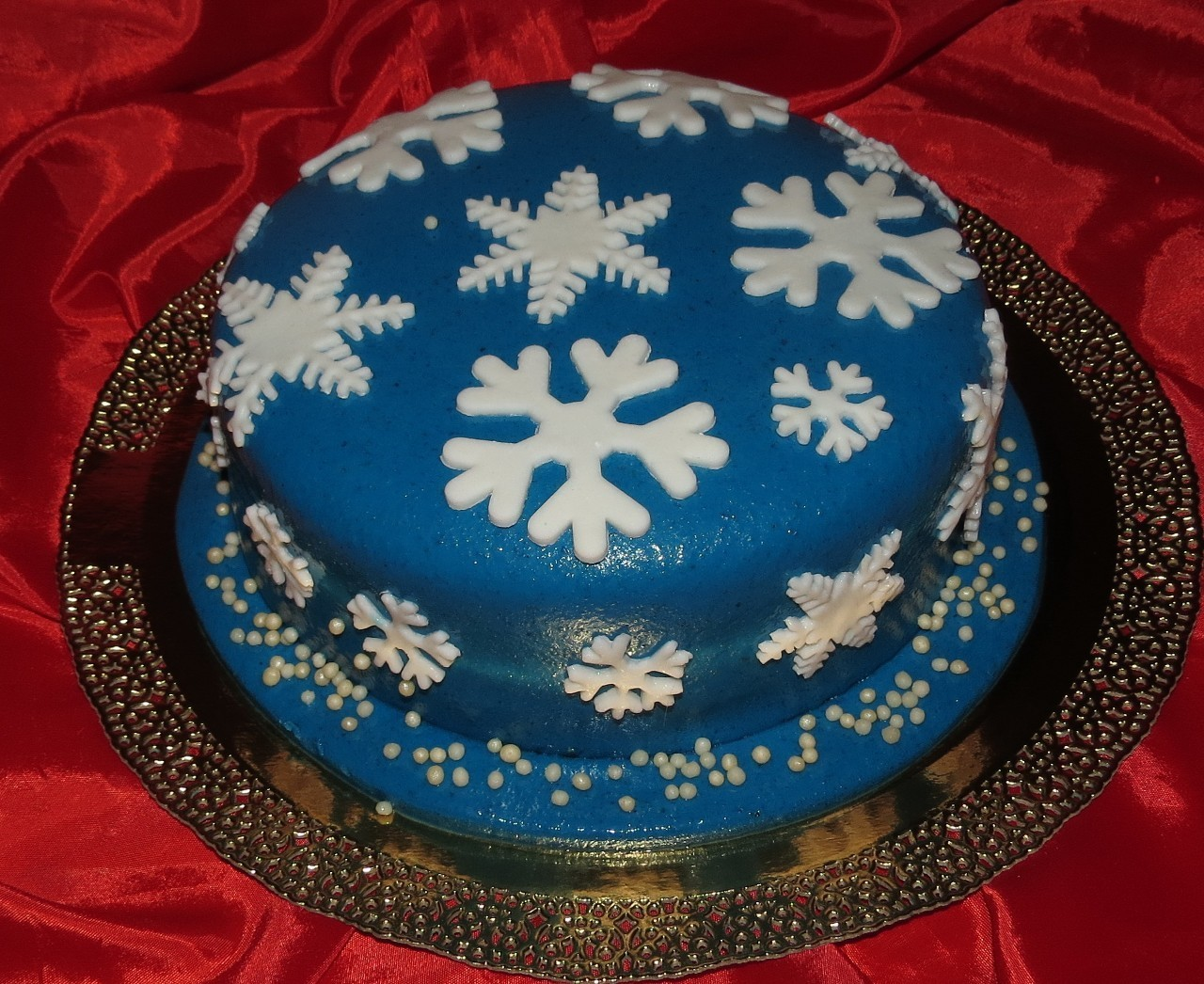 торт новый год (27)