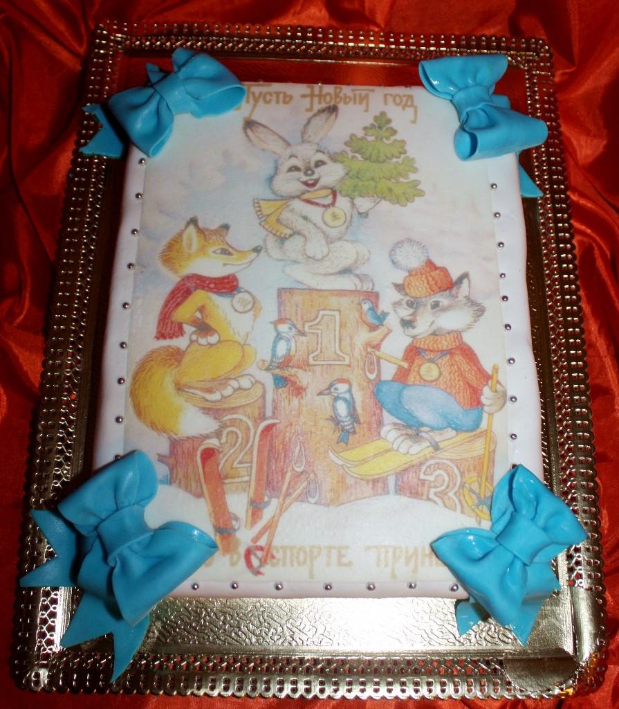 торт новый год (57)