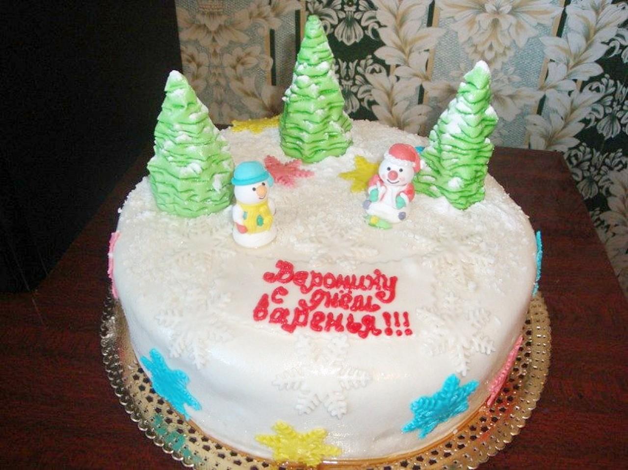 торт новый год (110)