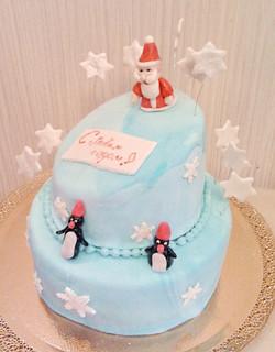 торт новый год (98)
