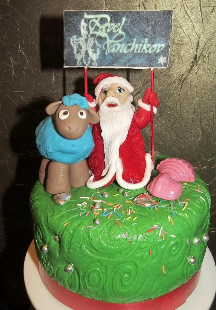 торт новый год (24)