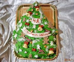торт новый год (86)