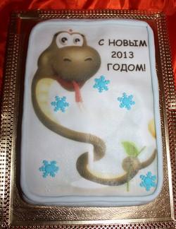 торт новый год (64)