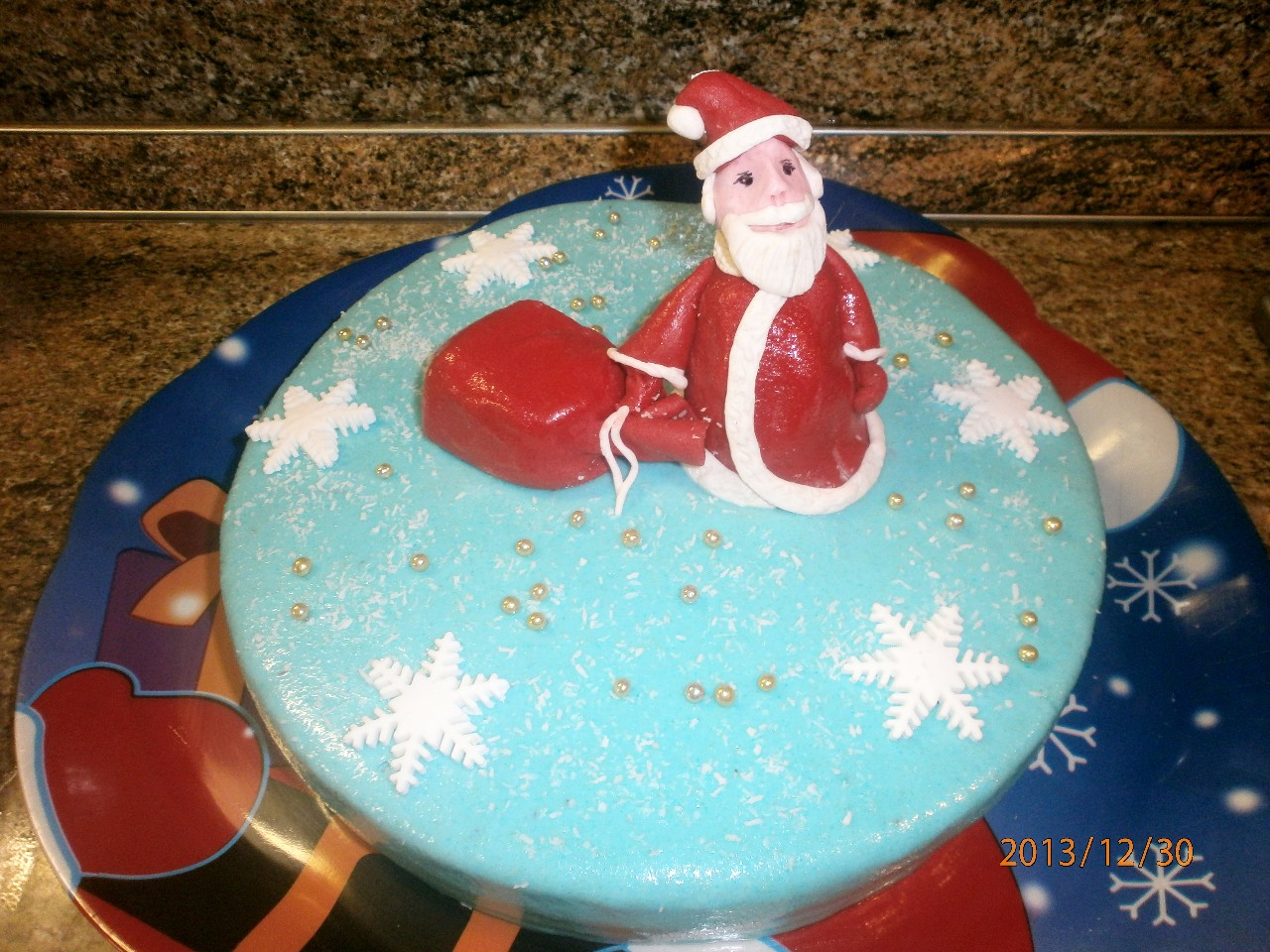 торт новый год (85)