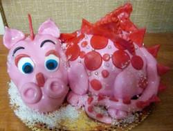 торт новый год (95)