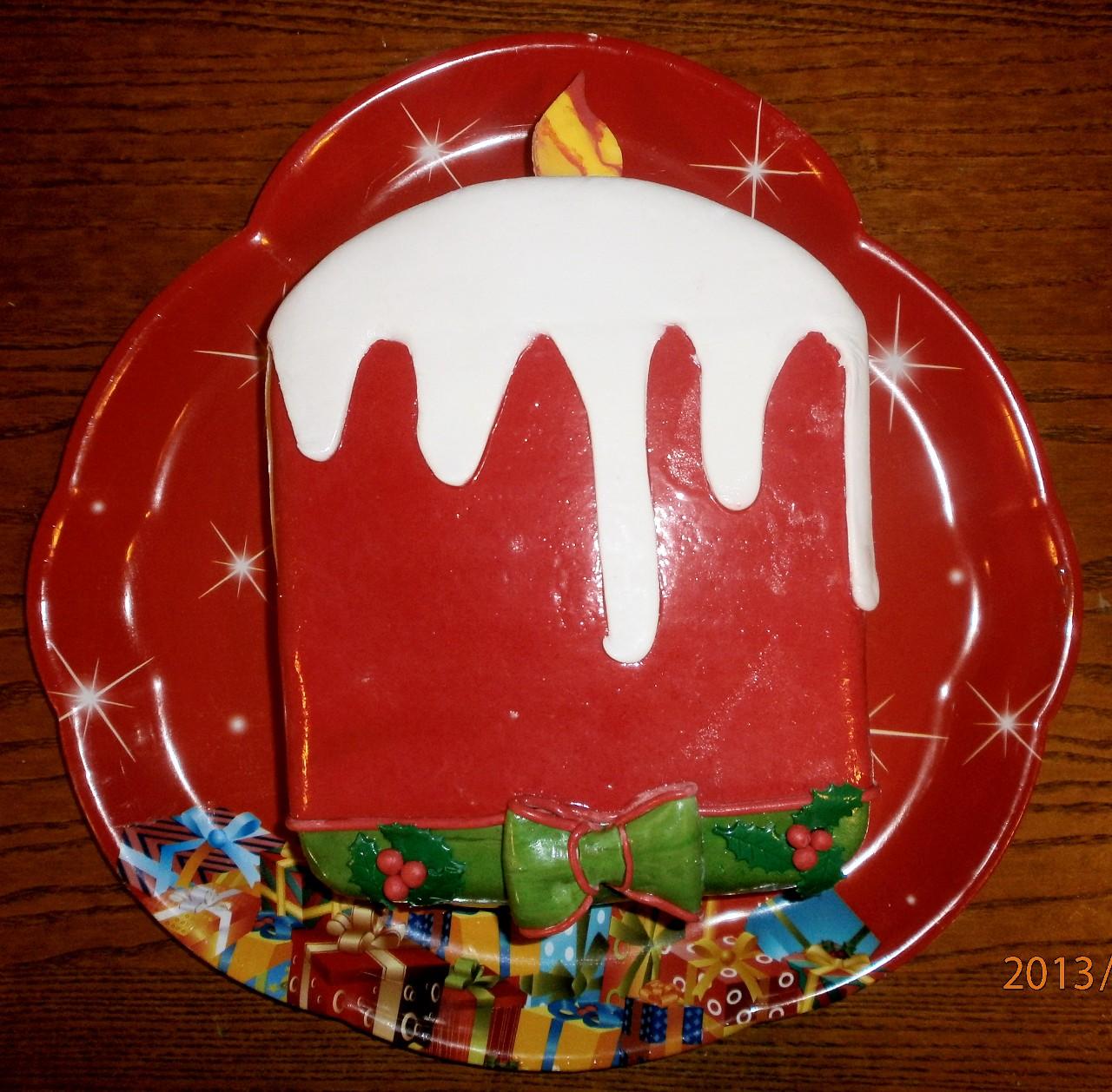 торт новый год (83)