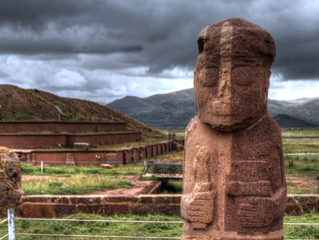 玻利維亞、秘魯交界的文化遺跡-蒂瓦納庫(Tiwanaku)