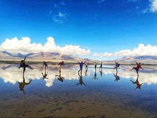 秘魯的天空之鏡:Laguna de Salinas
