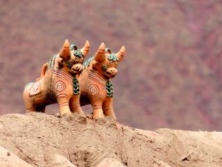 秘魯的招財小物:Torito de Pucara