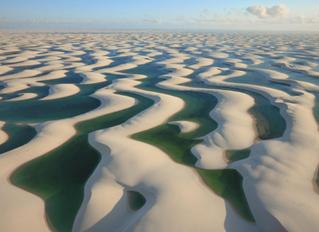 千湖沙漠- Lençóis Maranhenses National Park