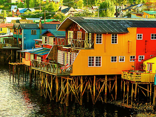 充滿繽紛木製教堂的小鎮- 奇洛埃島(Isla de Chiloé)