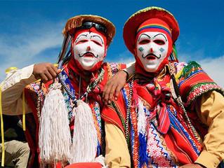 Máscara de Ukuku y Qhapaq Qolla