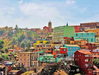 在智利讓藝術家墮落的小天地-瓦爾帕萊索Valparaíso