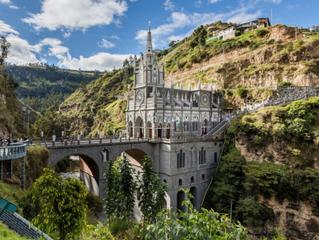 [哥倫比亞]Santuario de Las Lajas玫瑰聖母神殿