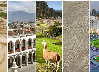 秘魯12個教科文聯合組織認證的自然及文化遺產