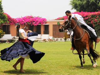 帕索馬與秘魯傳統舞蹈結合的曼妙舞姿