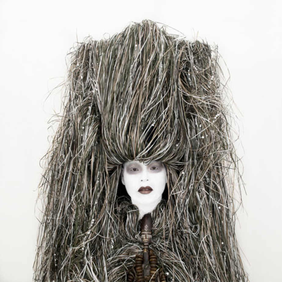 Painting (Queen Marie-Antoinette in a Court Dress by Elisabeth Vigée-Lebrun). Self-portrait