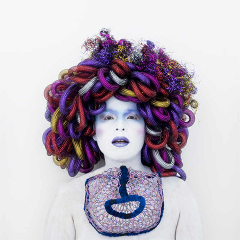 Painting (Medusa by Caravaggio). Self-portrait